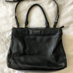 Sandro Black Leather Ladies Crossbody Handbag